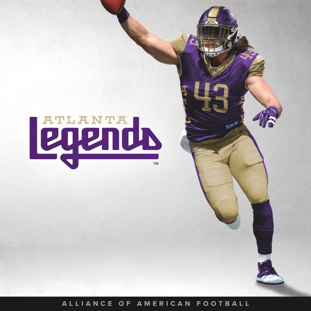 Carlos Merritt Atlanta Legends Game Jersey