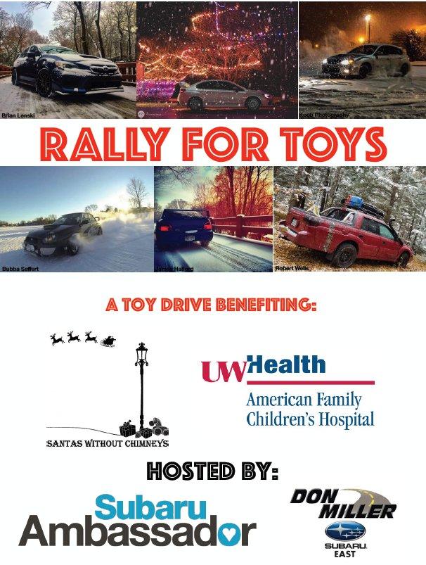 Don Miller Subaru East >> Donmillersubarueast On Twitter Rally For Toys With Subaru
