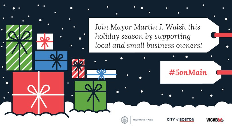 city of boston s tweet be a holiday hero when you shoplocal for