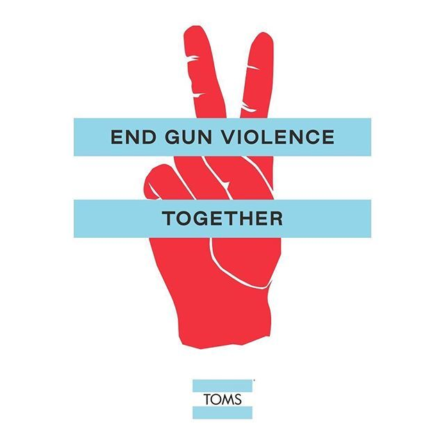 proud of my friend @blakemycoskie and @toms for jumping into the discussion on how we can work together to #endgunviolence. he has a gift for bringing people together and im happy to see him applying it to this cause. check out toms.com ift.tt/2QjGlxn