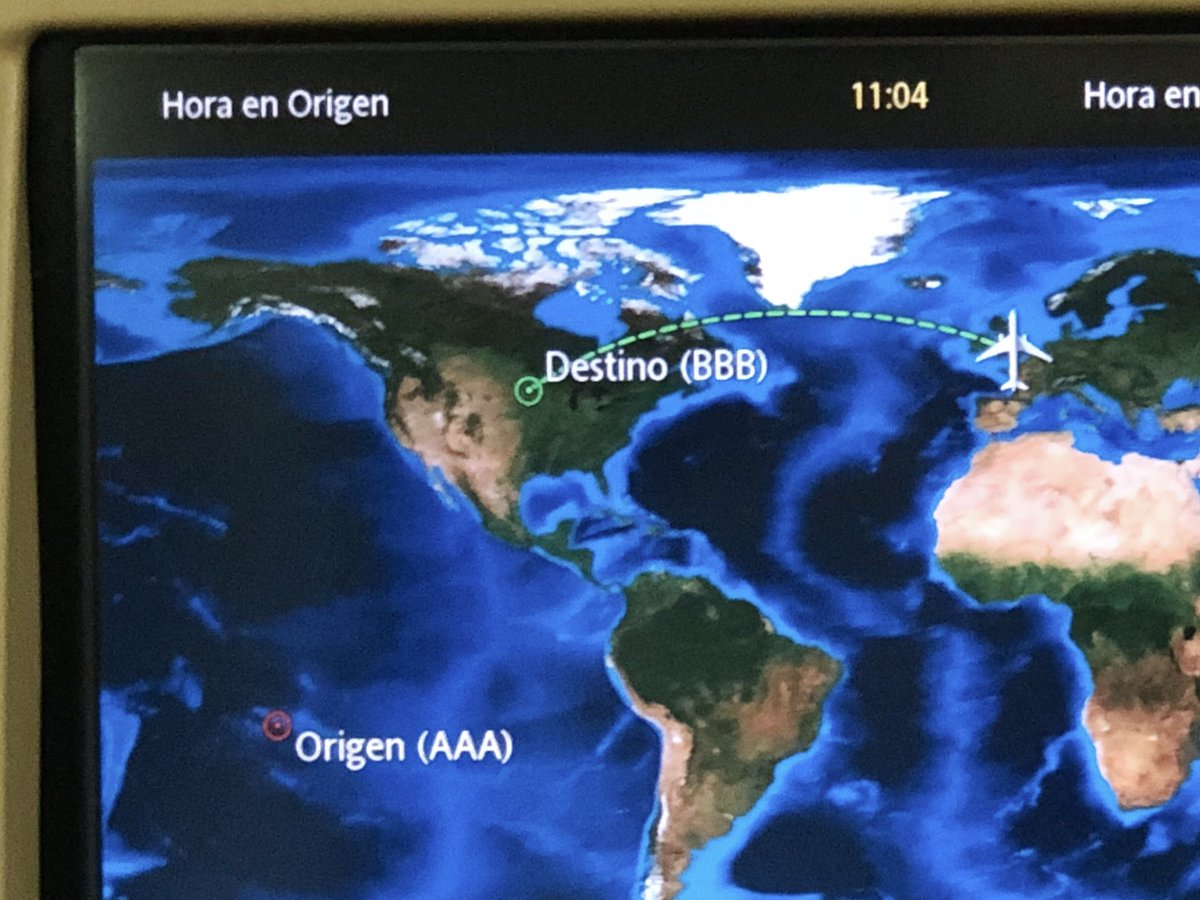i felt very safe on my flight to brazil that thought it started in the middle of the pacific ocean