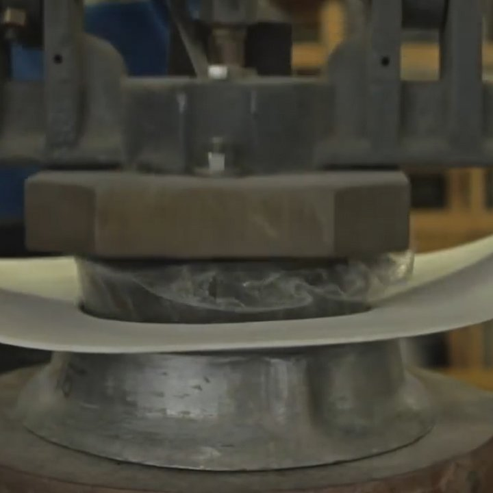 This is how the classic cowboy hats from @StetsonUSA are made.
