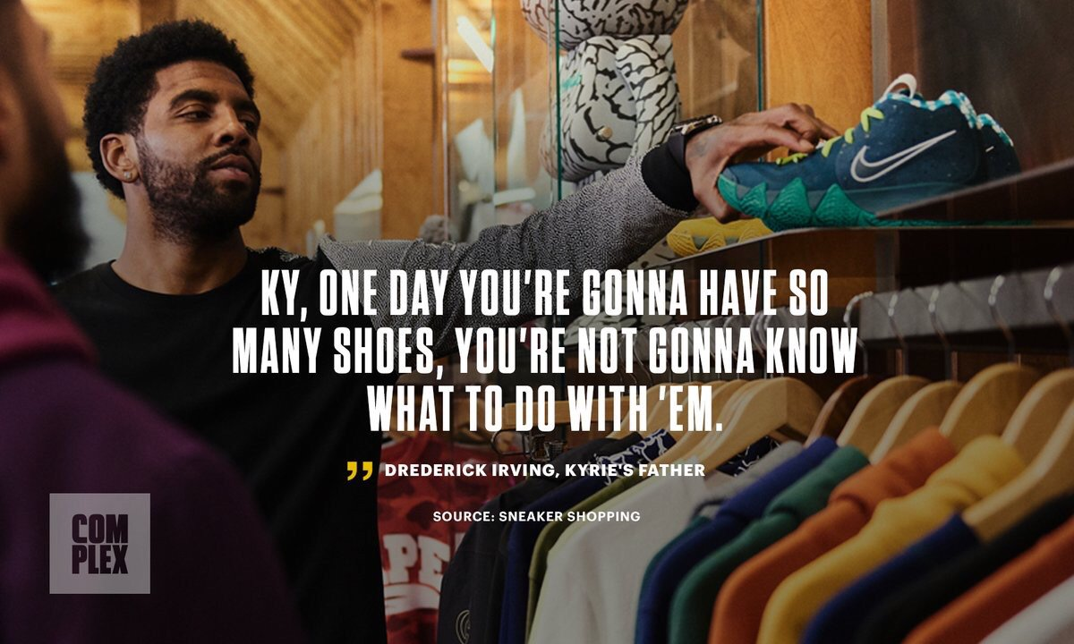 e5cea24069bb Kyrie Irving Goes Sneaker Shopping with Complex https   bit.ly 2QjlI47 pic. twitter.com blHJXgjWis