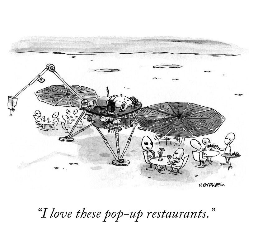 What's now happening on Mars after the #MarsLanding via @NewYorker