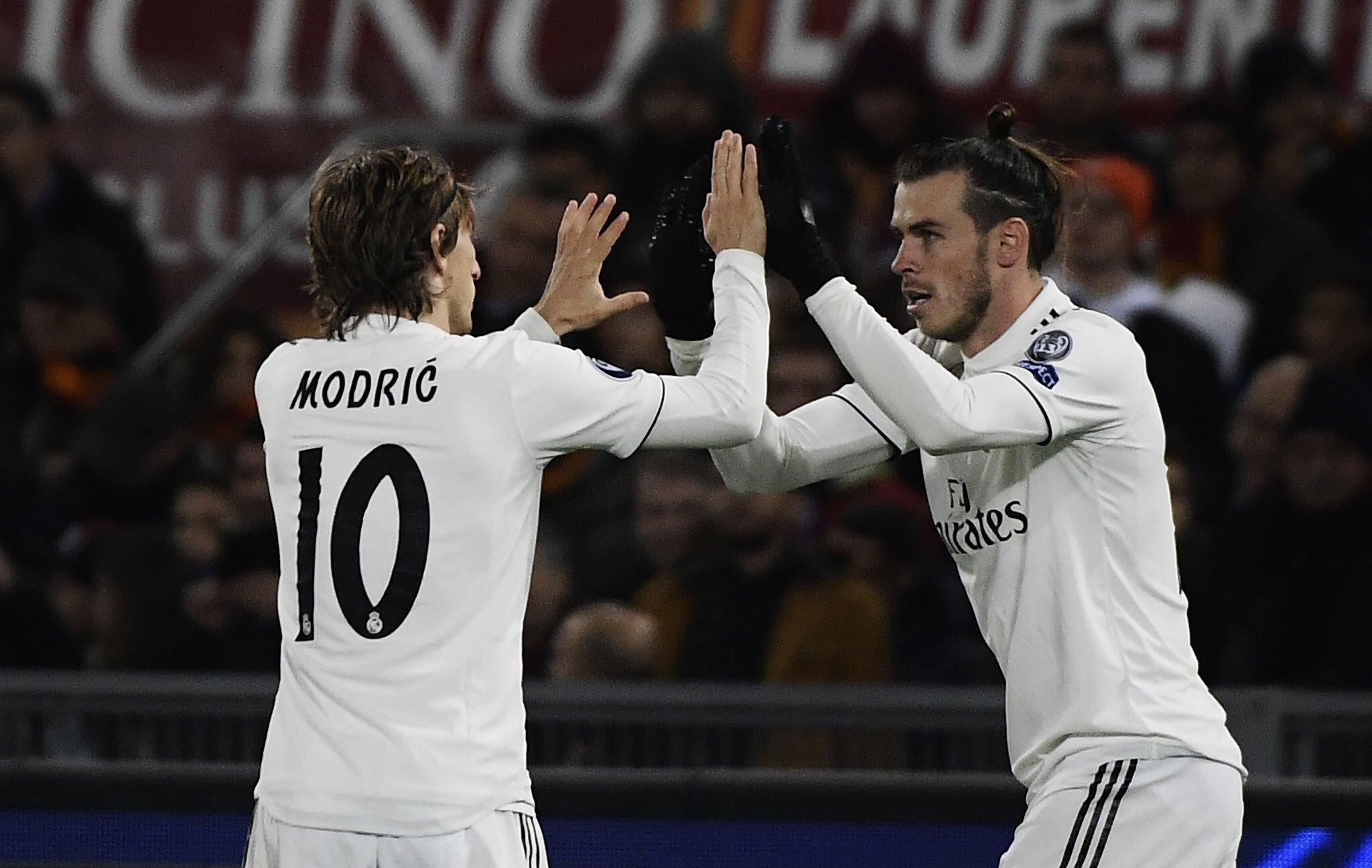 هدف ريال مدريد الثاني في شباك روما