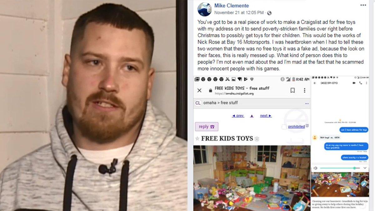 Kprc 2 Houston On Twitter Cruel Free Toy Prank On Craigslist Ends