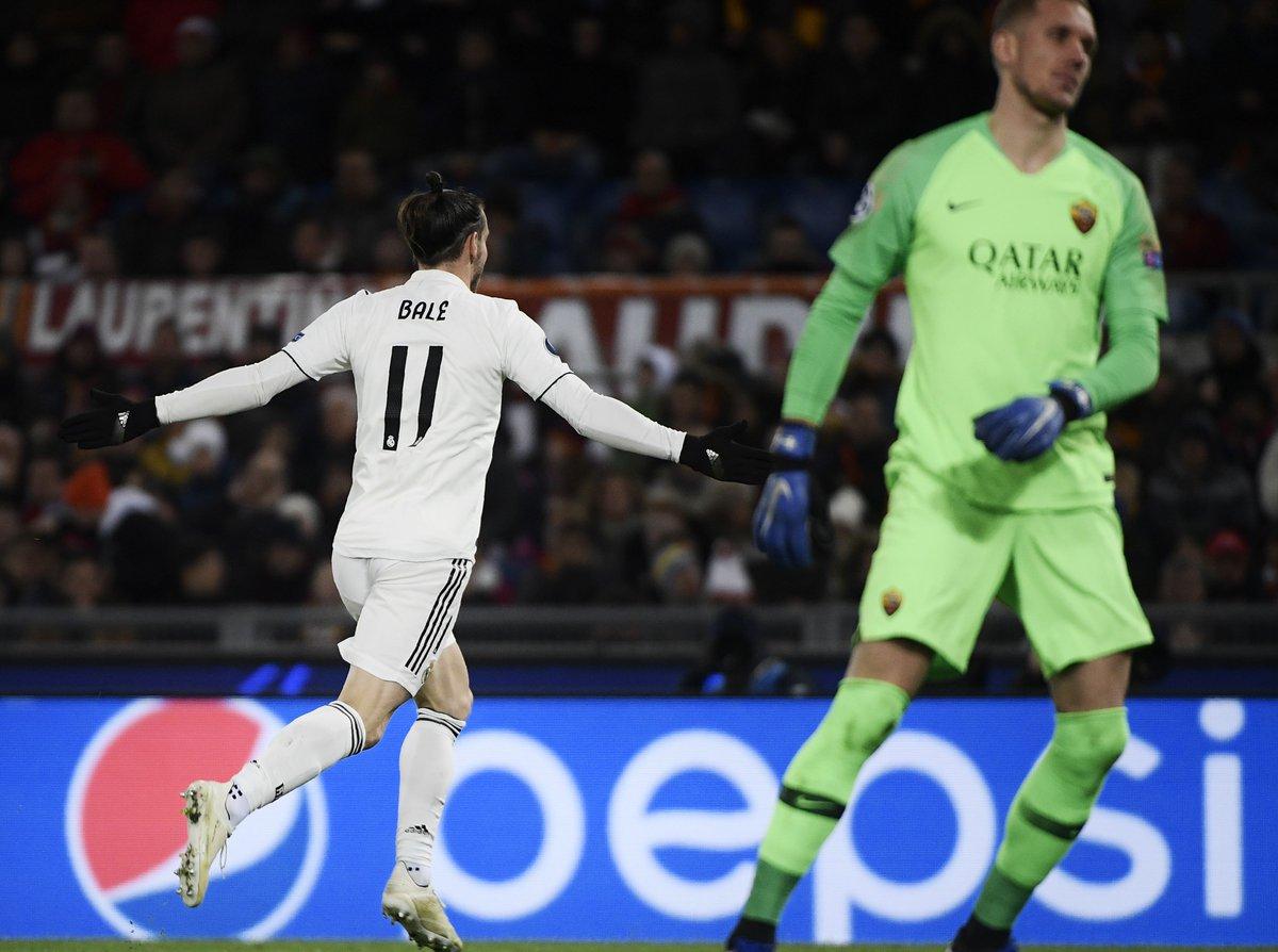 هدف ريال مدريد الأول في شباك روما