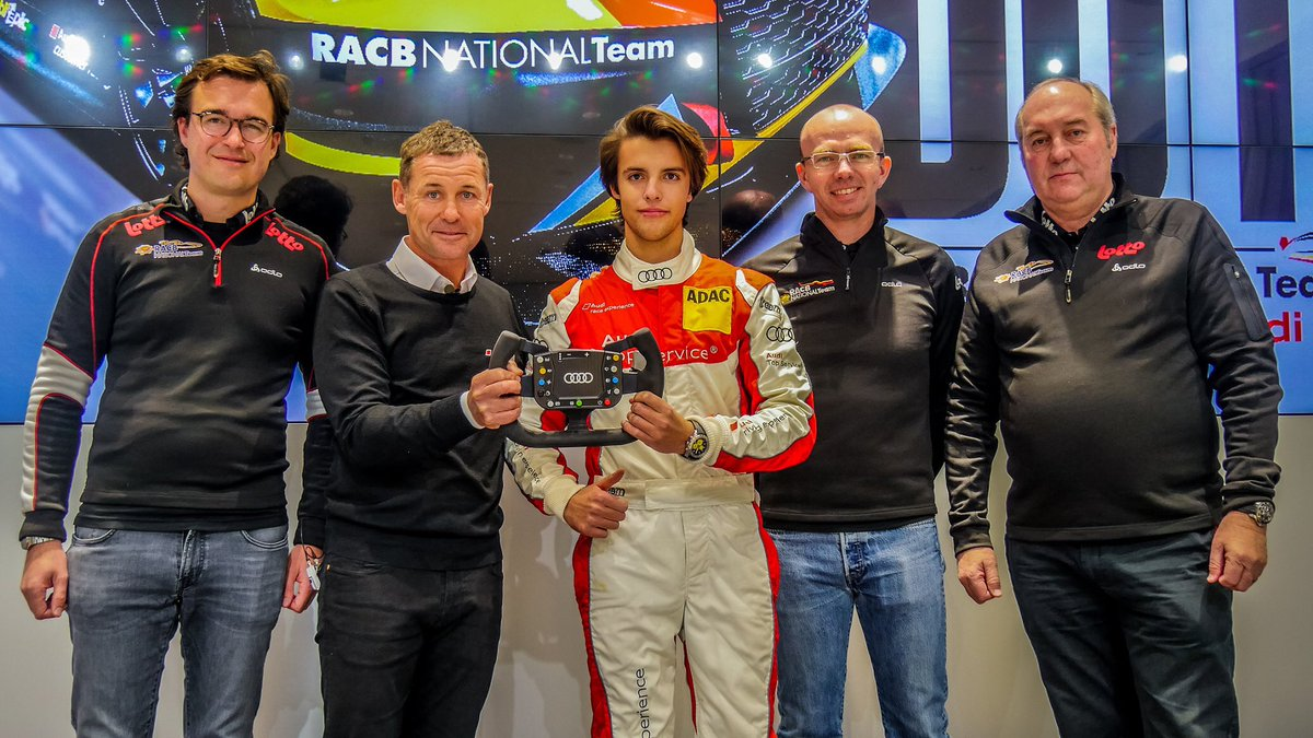 Congrats to #gillesmagnus, winner of the #RACB National Team contest ! He will participate at the @TCRBeneluxOff with an @audisport with #comtoyouracing ! Thanks to @tomkristensen member of the jury.