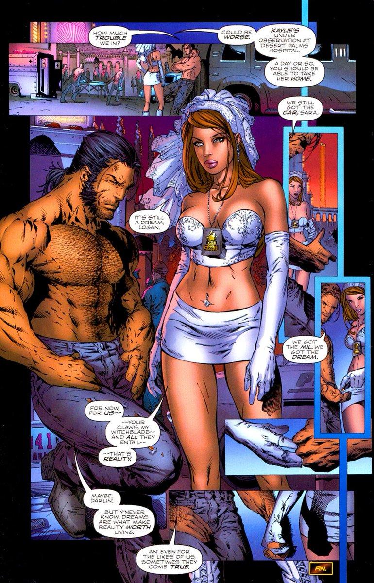 Witchblade Porn Comiczwart meisje geven blowjob