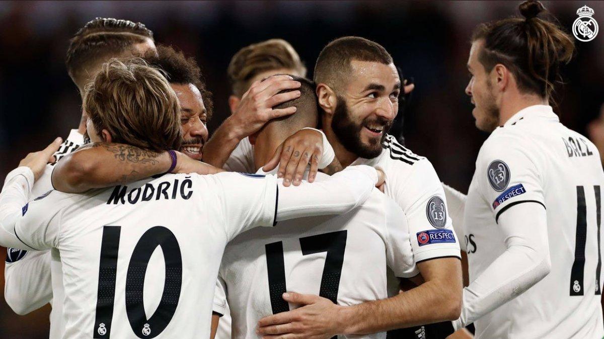 Victoria importantísima y primeros de grupo en Champions. Este es el camino a seguir, desde ya pensamos en trabajar para mantener esta buena línea en el próximo partido. ¡HALA MADRID!