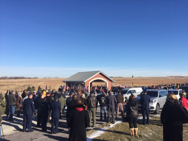 Like always, Nebraska answered the call. This time it was to ensure that a Vietnam Vet wasn't buried alone. Hundreds joined together to remember & celebrate Stanley C. Stoltz, who along with thousands of Nebraskans, answered our country's call to service. We are forever grateful.
