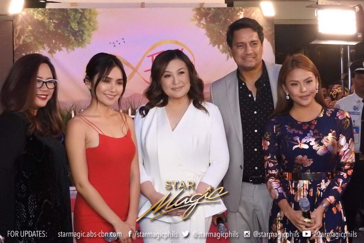 Three Words to Forever's successful premiere night! #ThreeWordsToForeverNowShowing