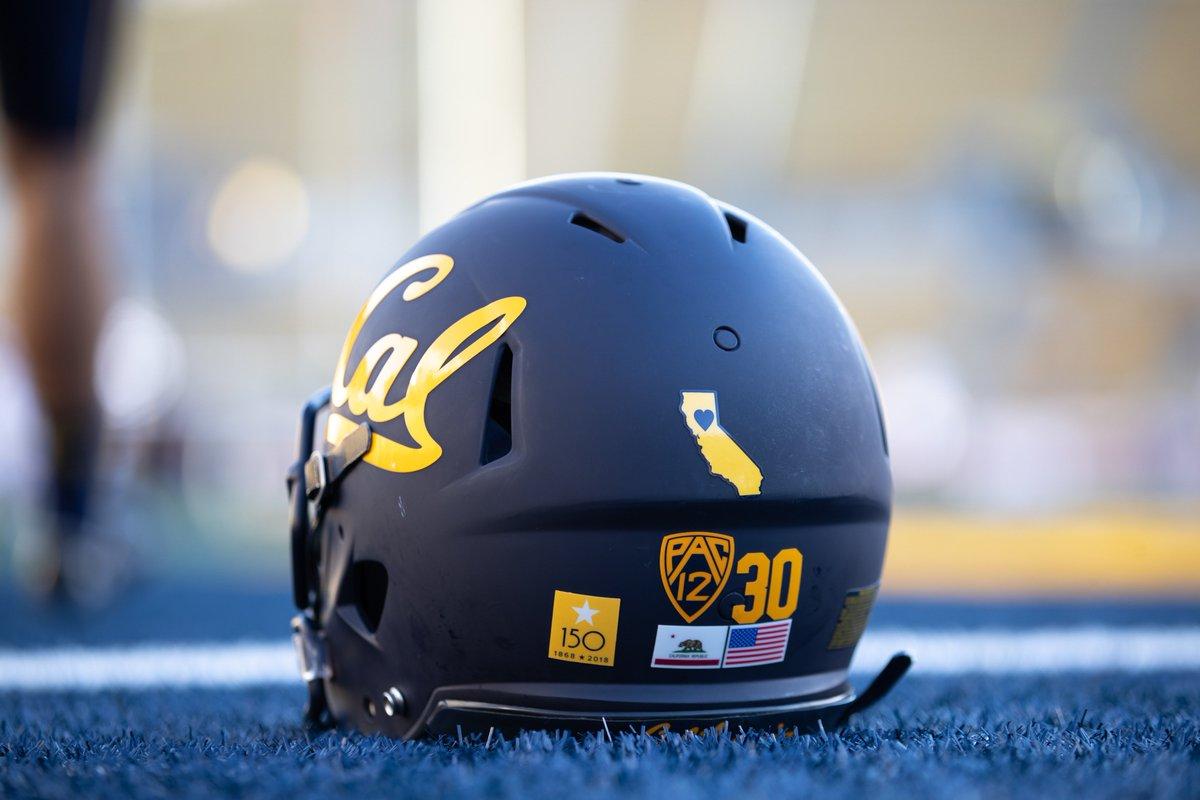 College High School Football News  Cal will wear a helmet decal ... ba45c211f