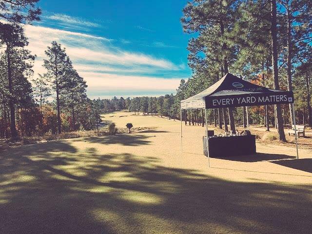 Incredible day in Pinehurst, NC sharing our brand at @CarolinasPGA Pro-Pro. #EveryYardMatters