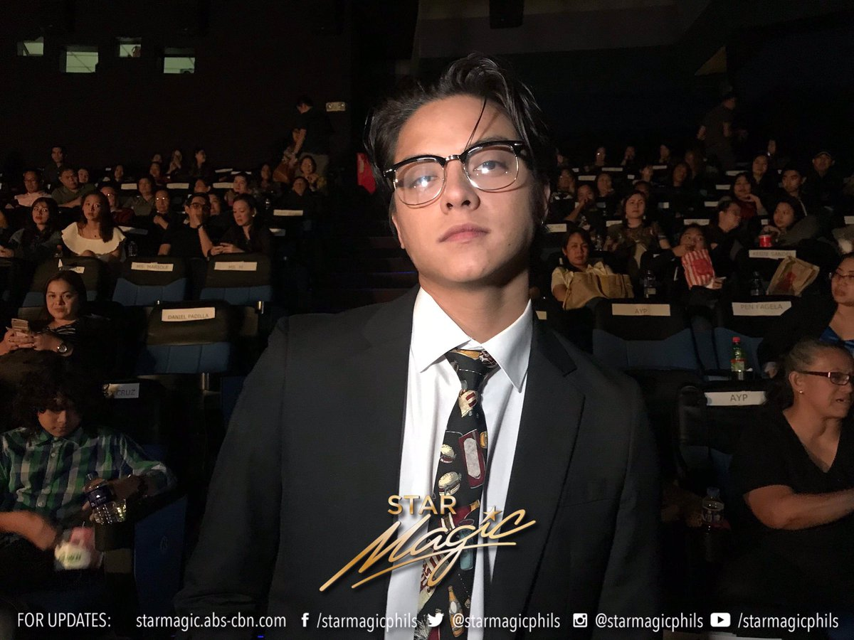 Daniel Padilla also came to show his support at the Three Words to Forever premiere night. #ThreeWordsToForeverNowShowing