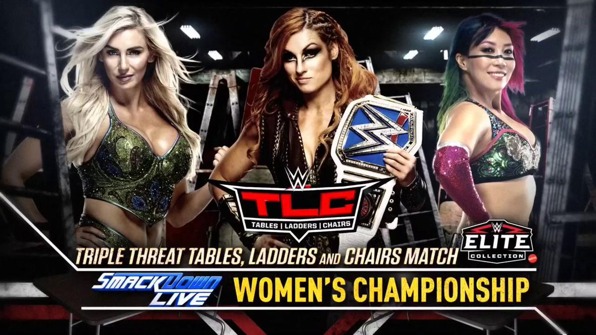 Big TLC Match Announced For The WWE TLC PPV