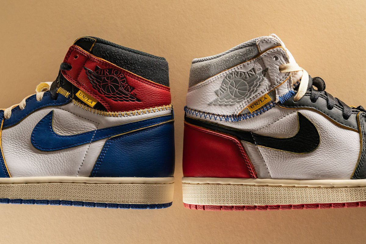 880df867b5fa46 ... vintage-inspired Union x Air Jordan 1 is a top candidate for  collaboration of the year. Which version do you prefer