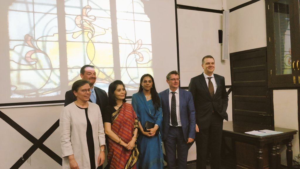 Full house yesterday for the conference on #VictorHorta and #ArtNouveau in Brussels  with our experts Barbara Van der Wee, @w_adriaenssens and Nupur Tron - the exhibition continues until 9dec at the @BDLMuseum  @Flanders_India @VisitBrussel #KIKIRPA @ArtHistoryBRU<br>http://pic.twitter.com/E7UKCqj1OY