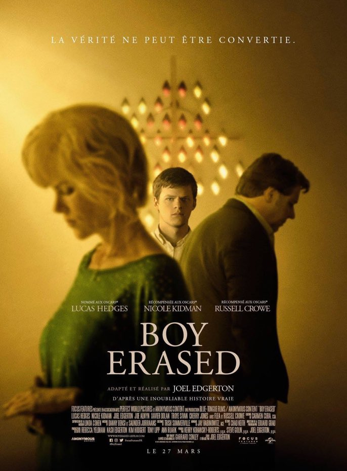 Boy erased affiche