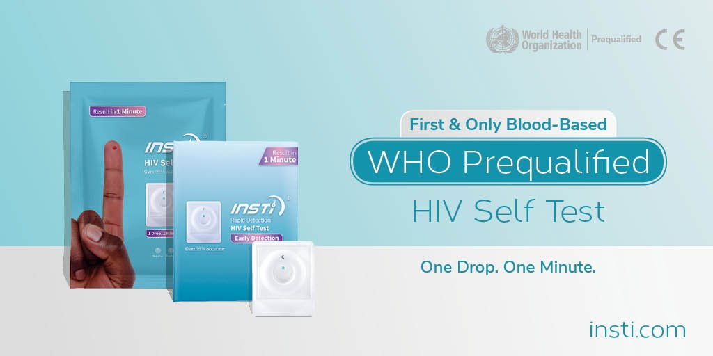 #INSTI can now be used in more #HIV testing programs worldwide giving  results in #OnlyOneMinute. Learn more: http://www.insti.com/home-test/ ...