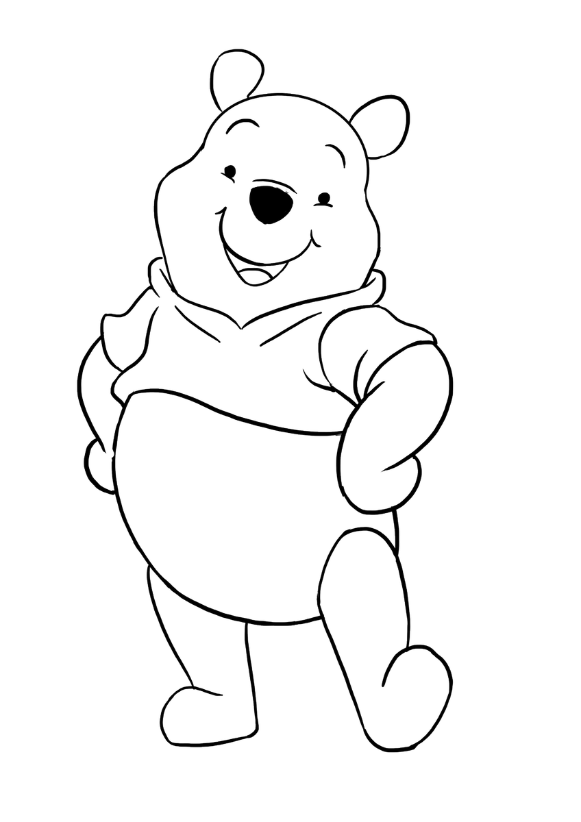 Easy Drawing Guides On Twitter Are You Ready To Draw Your Very Own Winnie The Pooh Doing So Is Easy With These Simple Instructions Https T Co Fyw9zypgyd Winniethepooh Easydrawing Drawingtutorial Https T Co 2cgxiqfa0s
