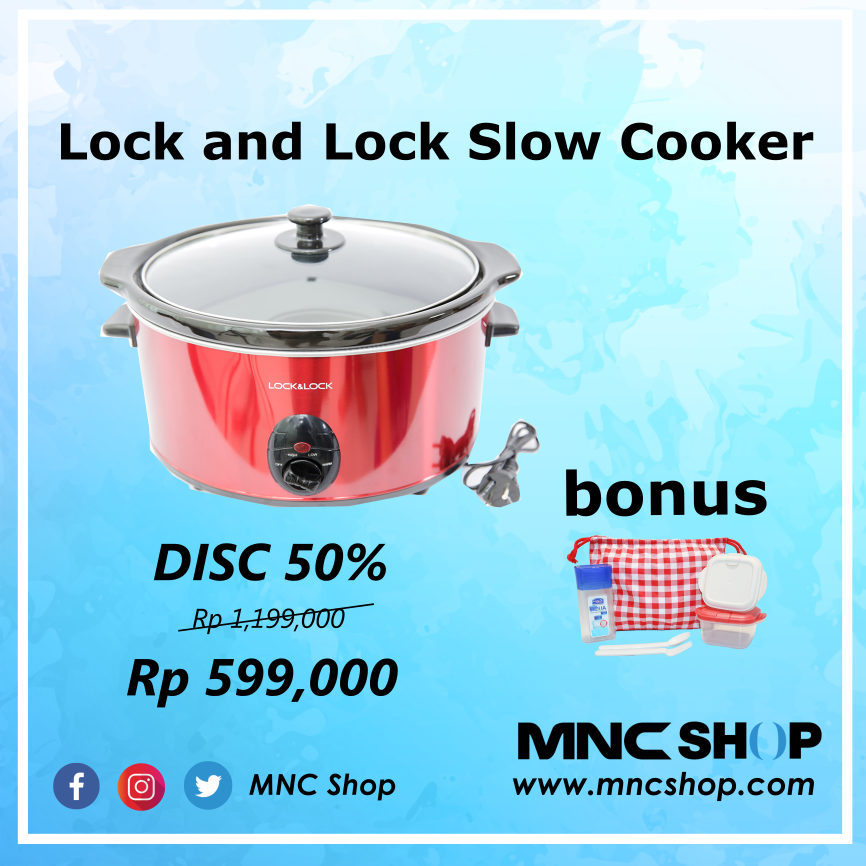 Image result for Lock and Lock Slow Cooker mnc shop