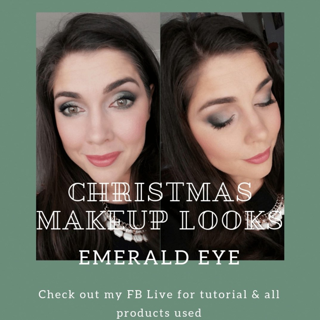 Check out the FB Live I did earlier today for the tutorial & products used at https://bit.ly/2P7nm4c . #christmasmakeup #mua #MaryKayAUSNZ #beauty ...