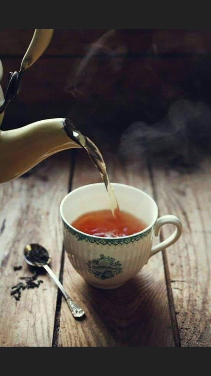Good Afternoon With Hot Tea Relaxing Atmosphere Imgware