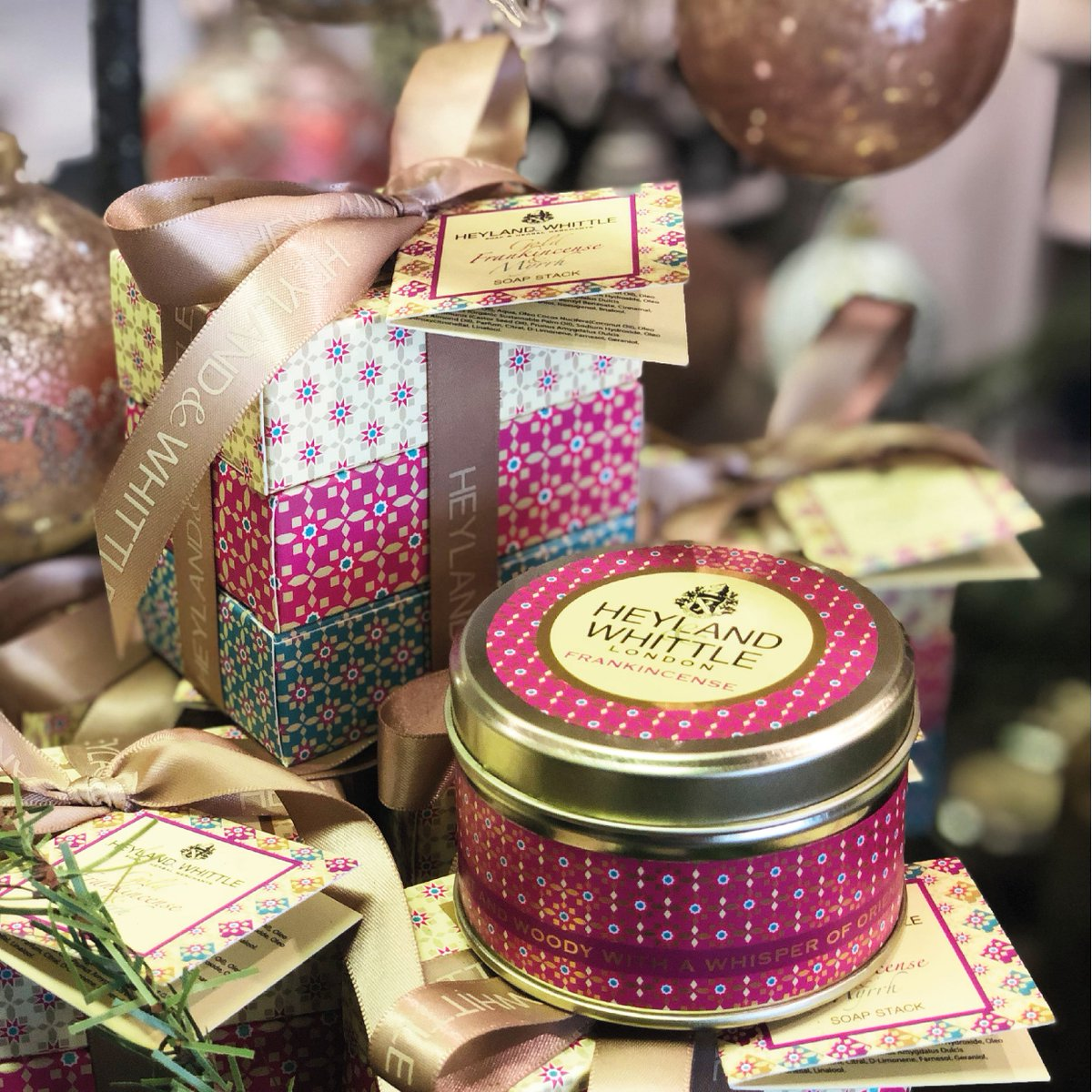 It&#39;s #competition time! For one hour you have the chance to #win a gorgeous Christmas Candle &amp; Soap Stack Set! Tag a friend to enter. Best of luck to all! #inittowinit #WinItWednesday #giveaway #HomeFragrance #LuxuryCandles #TagAFriend #LikeToWin #gifting #christmasgifts<br>http://pic.twitter.com/gLVsT0zsOk