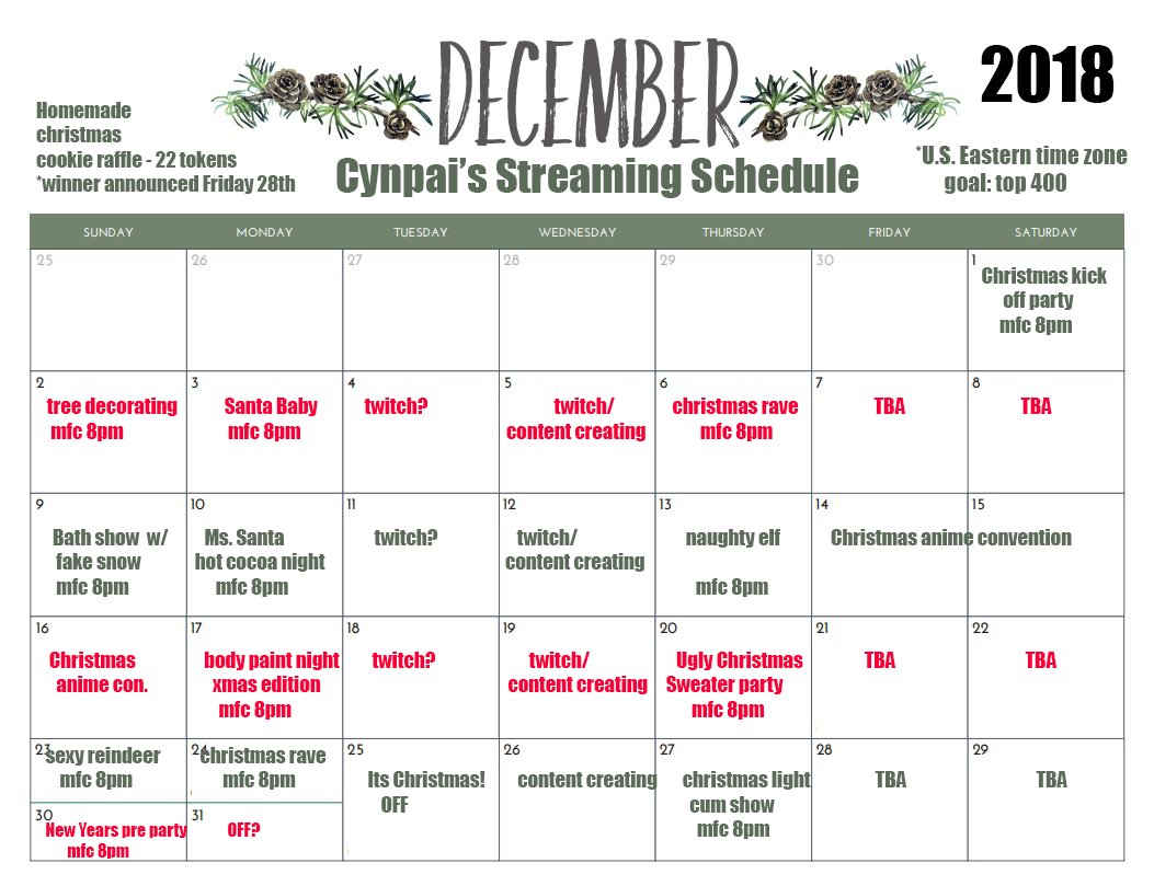 Mark Your Calendars Because December Is Going To Be A Wondrous Month