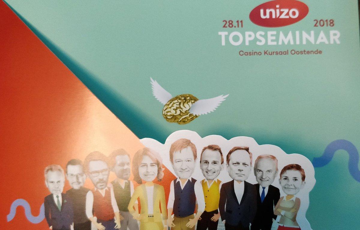 Wij zijn er al klaar voor #unizotopseminar te Oostende Kursaal https://t.co/1qbcTQE2KR