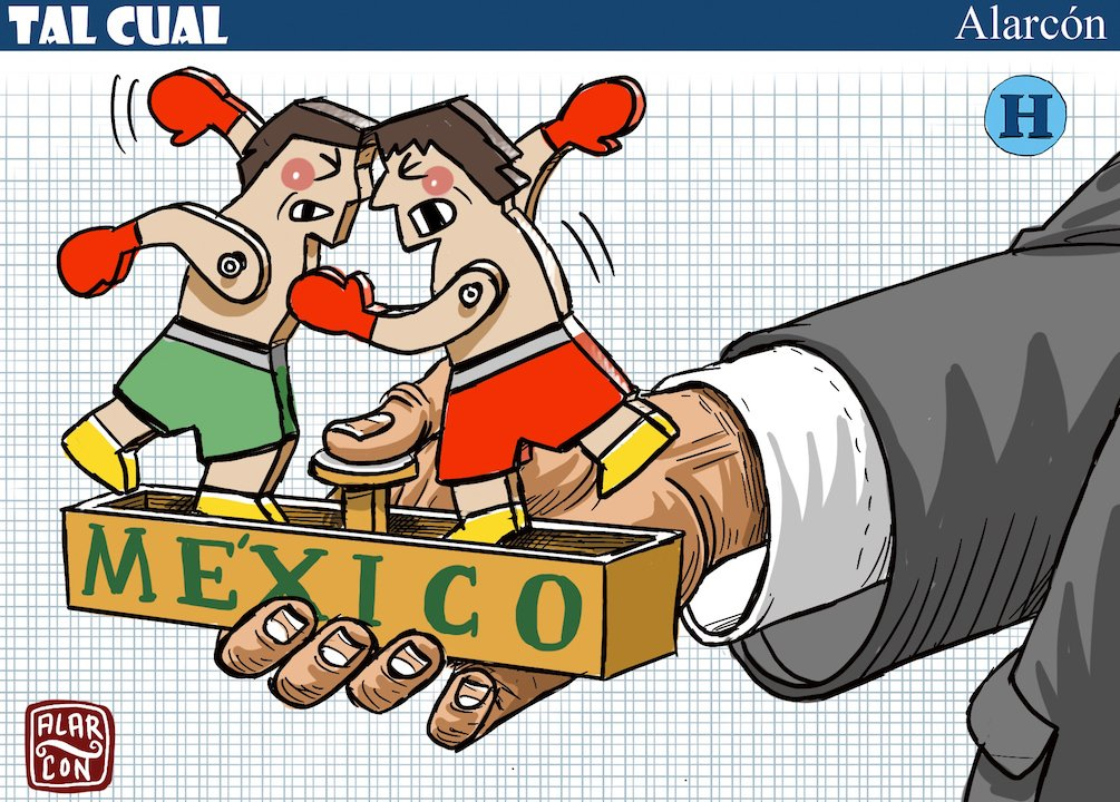 """#TalCual La opinión de @alarcondibujos: """"México"""" 👨🏻🎨➡️ http://bit.ly/2Rk9o10"""