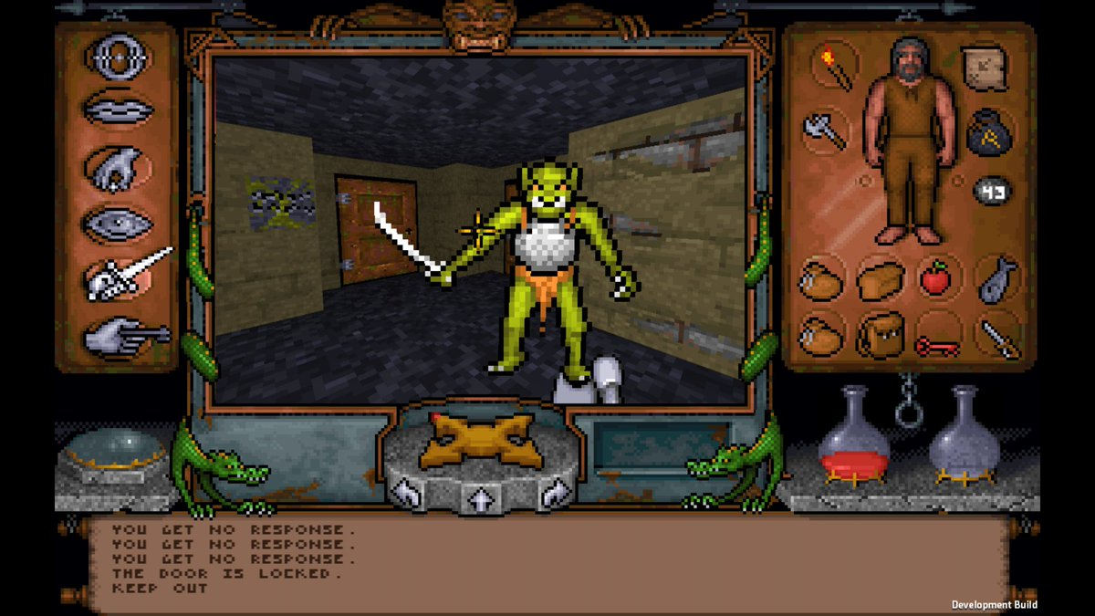 Incline - Fully playable Ultima Underworld 1 port to Unity with