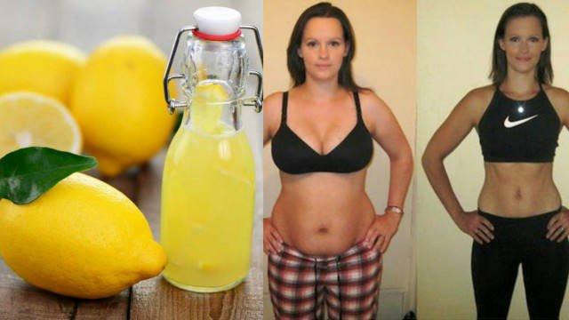 Похудеть за одну ночь лимон