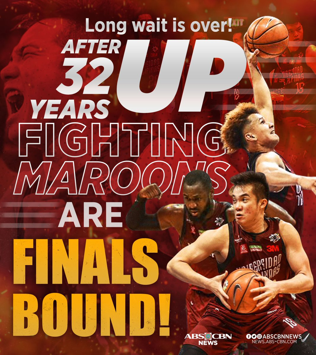 "Abs Cbn Latest News Update: ABS-CBN News On Twitter: ""UP Fighting Maroons Book A Seat"