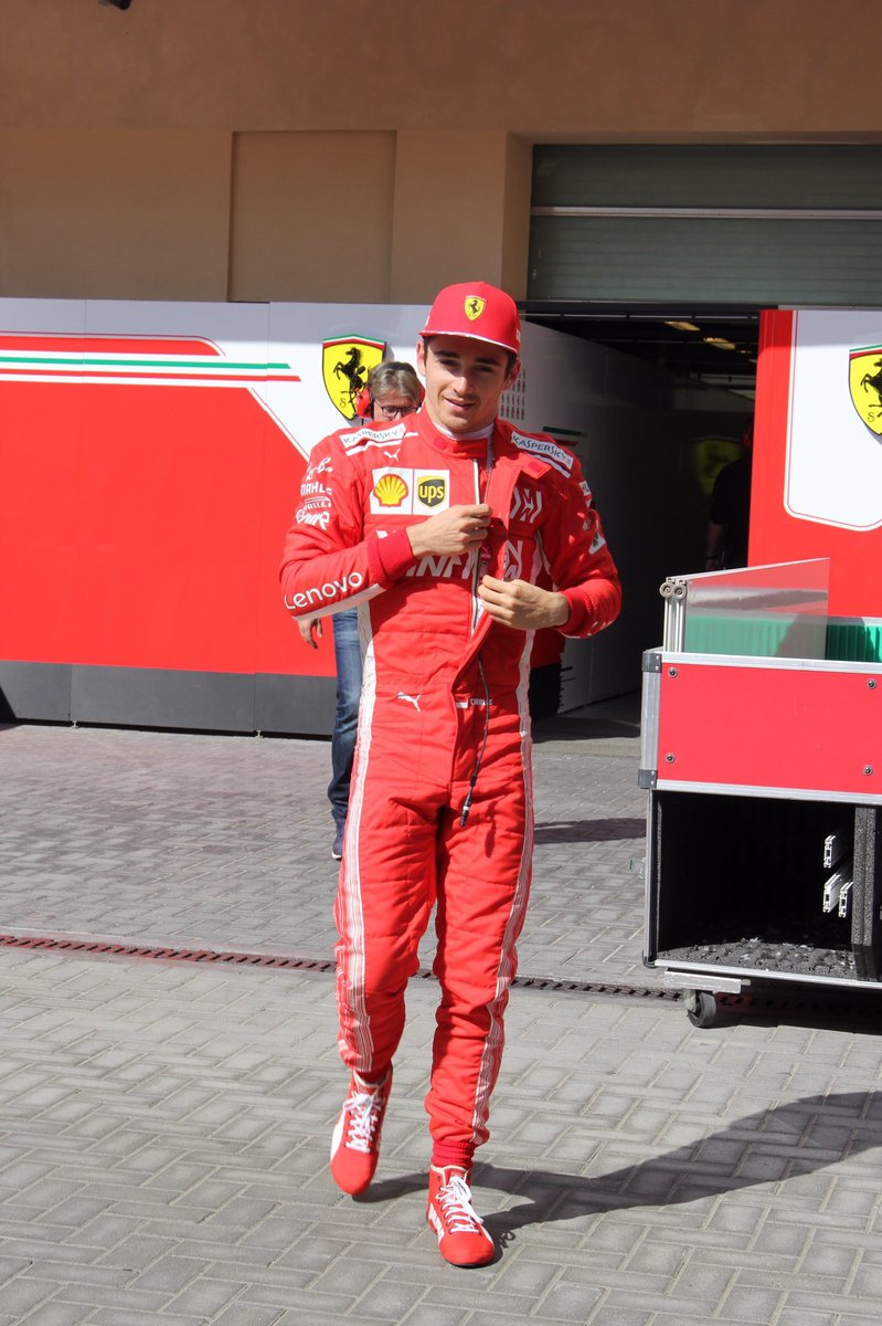 Charles Leclerc Fan Page On Twitter Charles Leclerc In His Ferrari Race Suit Today Janebleach F1 F1testing Cl16 Teamleclerc Scuderiaferrari Https T Co Ugfgh6vn6f