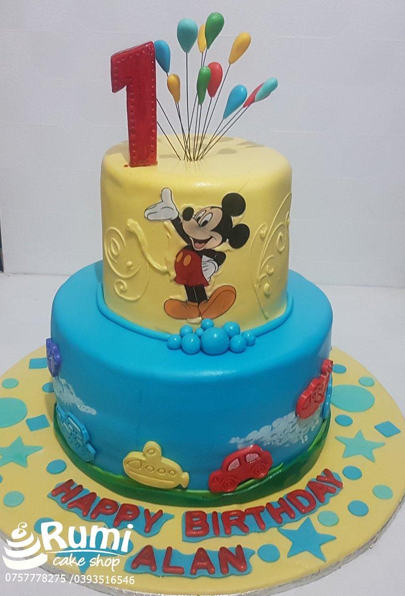 Astonishing Rumi Cake Shop On Twitter Its The Mickey Mouse Club House Funny Birthday Cards Online Benoljebrpdamsfinfo