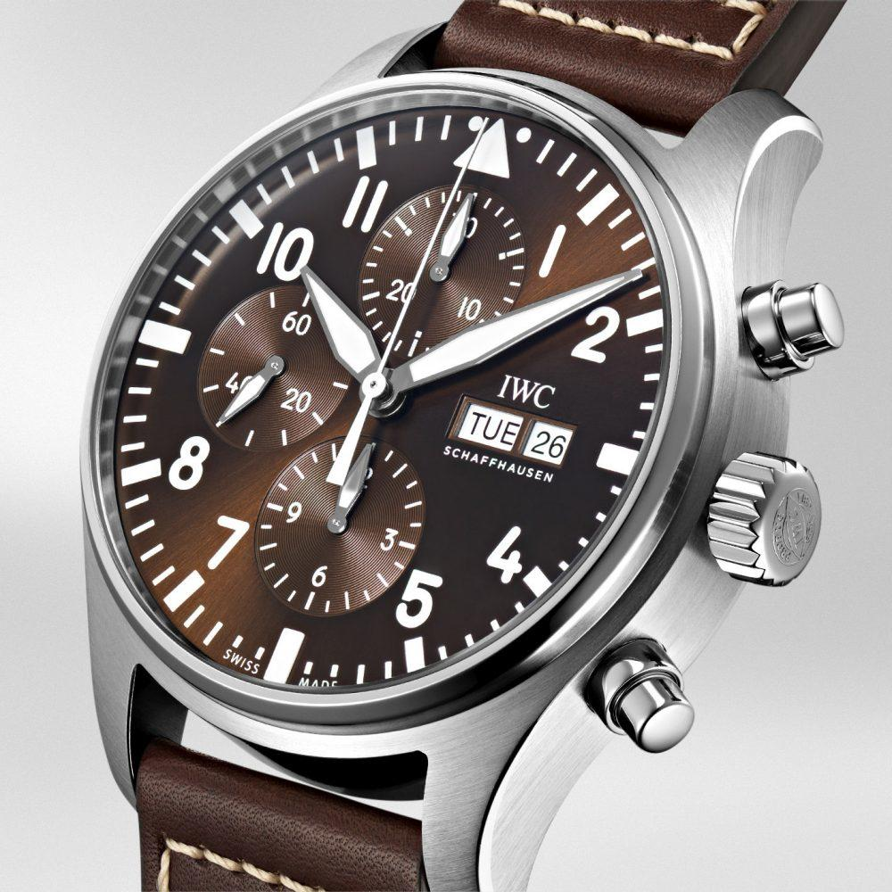 """fc6b2e2c37f7 A little treat to brighten up your day  the IWC Pilot s Watch Chronograph  Edition """"Antoine de Saint Exupéry"""" (Ref. IW377713)."""