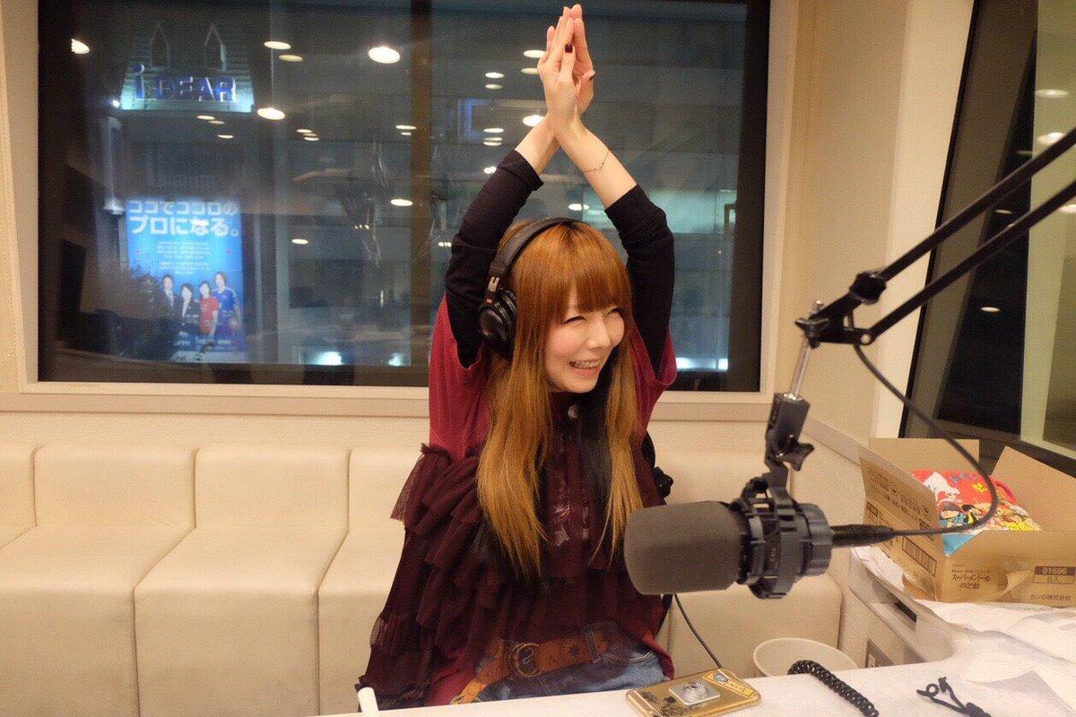 aikoラジオ番組収録画像