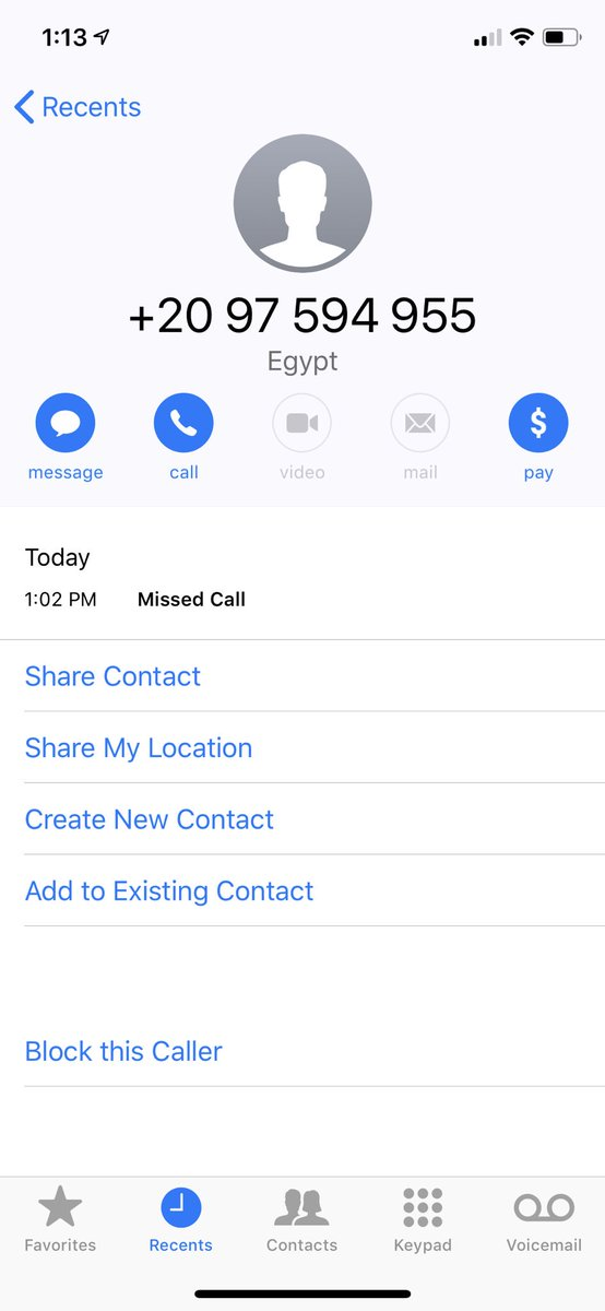 Why did Egypt try to call me
