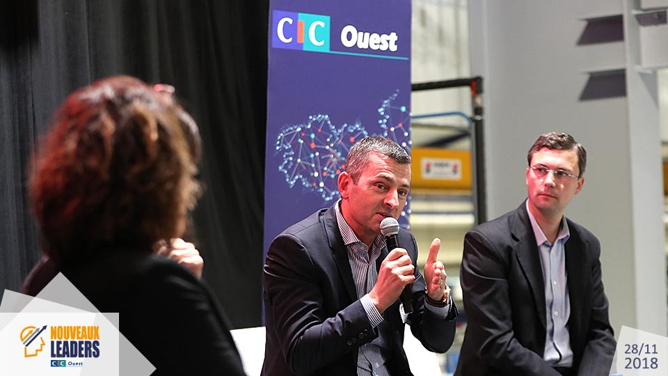 Ouest MEDIAS agence digitale Livetweet photo Sepro Groupe Dubreuil Nouveaux Leaders CIC Ouest