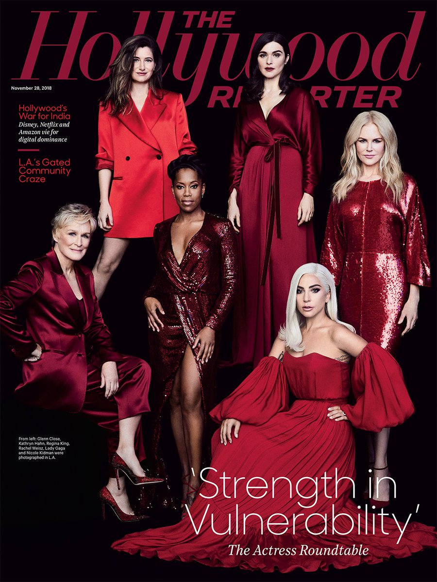 THR cover: The Actress Roundtable with , Nicole Kidman, , , Kathryn Hahn and Rachel Weisz  https://t.co/IXUT66611l