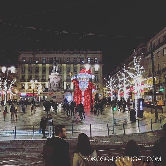 test ツイッターメディア - リスボン、カモンイス広場のイルミネーション。 #リスボン #ポルトガル https://t.co/8p0vAV3MJP