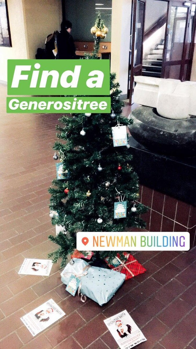 Newman Christmas Trees.Ucd Svp On Twitter Our Christmas Trees Are All Over Campus
