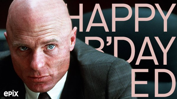 Happy birthday, Ed Harris!