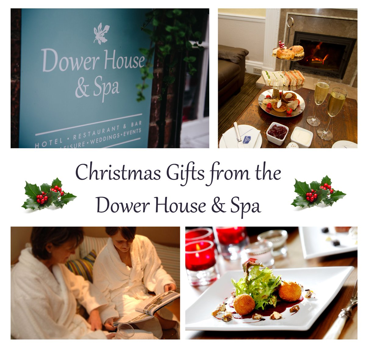 Christmas present time! Why not treat someone to a Spa Experience, overnight stay or Dinner at the Dower House #TakenCareOf #GiftVouchers https://t.co/6L1CKOVyrA https://t.co/88FhR6z0D7