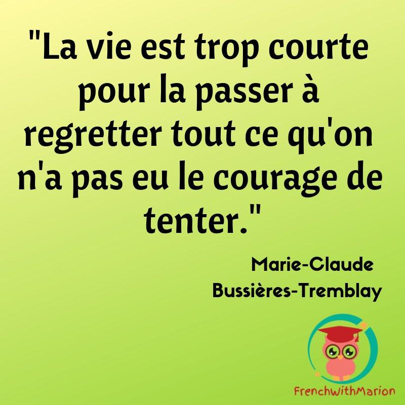 Frenchwithmarion On Twitter Jolie Citation N Ayez Pas De