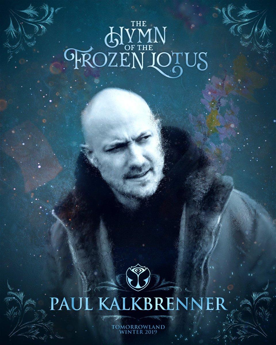 Paul Kalkbrenner  tomorrowland winter 2019 ile ilgili görsel sonucu