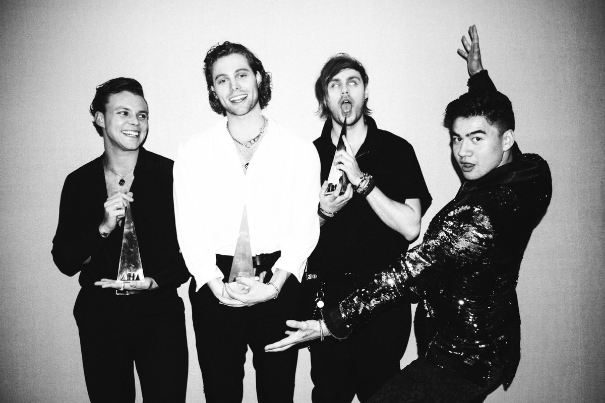 Thank you Australia.  Tonight @5SOS won, Best Live Act, Best Group, and Apple Music's Song of the year. A monumental achievement for the band and our fans ❤️ @ARIA_Official