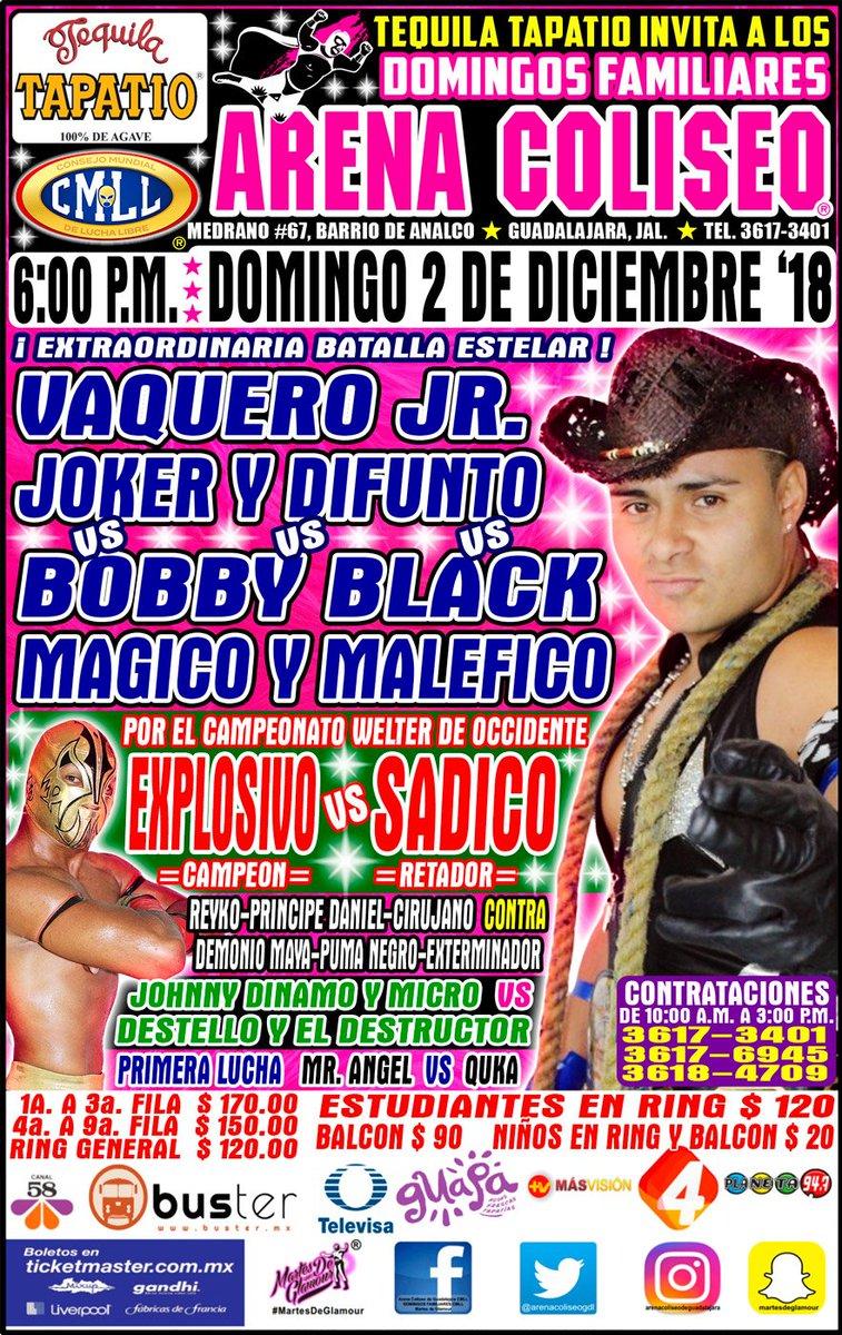 CMLL: Una mirada semanal al CMLL (Del 22 al 26 de noviembre de 2018) 19
